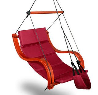 Deluxe Hammock Air Chair Padded Hanging Lounge Chair ...