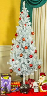 Ft Tree Forest White Pixee Fir Artificial Christmas Tree