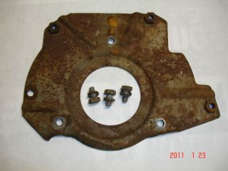 HARLEY DAVIDSON TOPPER TRANSMISSION COVER BACK PLATE