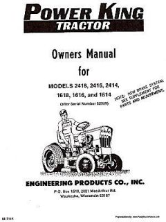 power king tractor in Business & Industrial