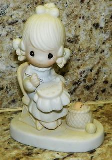 retired precious moments figurines in Collectibles