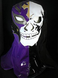 REY MYSTERIO   WWE OVERHEAD SKULL KID SIZED REPLICA WRESTLING MASK