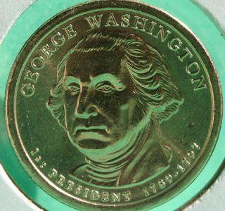 BU George Washington Presidential #1 One Dollar Coin Made in America