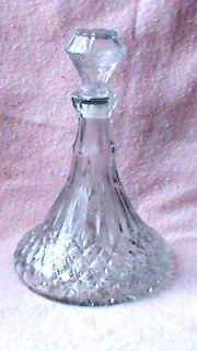 SHIP DECANTER /BAR ACCESSORY/BAR GLASSWARE/LIQUOR DECANTER/HOME DECOR