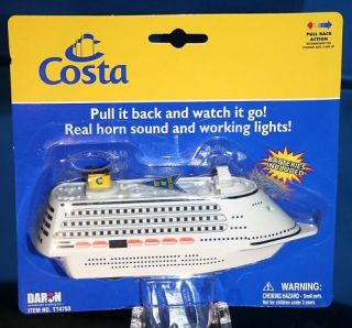 Costa Lines Cruise Ship Liner Souvenir model MINT