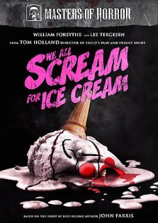 Masters of Horror   We All Scream for Ice Cream ~ Brand New / Horror