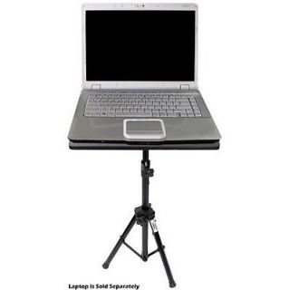 New Pyle PLPTS3 Pro DJ Laptop TriPod Adjustable Stand For Notebook