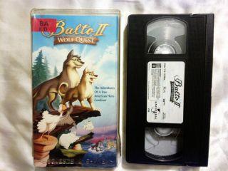 Balto II Wolf Quest (VHS, 2002, Slip Sleeve)