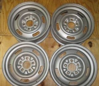 Set of 4 1967 67 Corvette DC Code Rally Wheels Kelsey Hayes