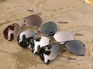 High Quality Mens Aviator Mirror UV 400 Sunglasses