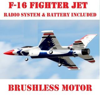 16 Fighting Falcon Radio Remote Control READY TO FLY RC JET PLANE