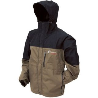 Frogg Toggs Toadz ToadRage Rain Suit Jacket   Color Stone / Black