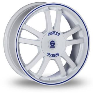 15 Sparco Rally Alloy Wheels & Pirelli P6 Cint Tyres   CITROEN C3