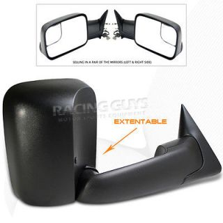 1994 1997 DODGE RAM 1500/2500/3500 POWER TOWING TOW MIRRORS PAIR L+R