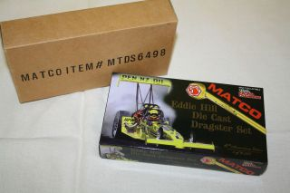 64 Die Cast Bank Racing Champions Matco Tools Eddie Hill Dragster