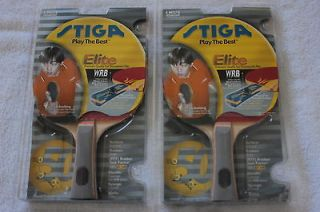 STIGA ELITE PING PONG PADDLE COMBO TABLE TENNIS RACKET Butterfly Donic
