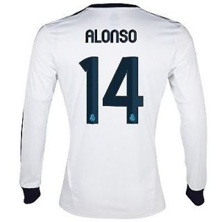 Newly listed #10 OZIL REAL MADRID LONG SLEEVE SIZE LARGE ADULT JERSEY