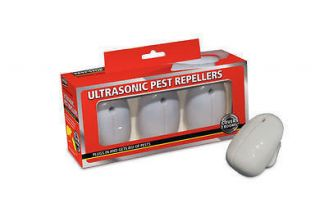 ELECTRONIC HUMANE MOUSE TRAPS MICE REPELLER + RATS+INSE