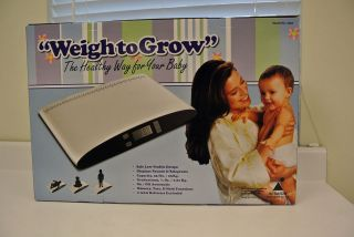Redmon, WeightoGrow Digital Baby Scale, 55lb Capacity