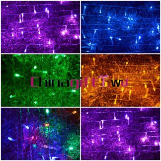 3M 30 LED string lights AA battery operated various colors for Xmas
