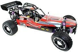 Scale AW Yama Buggy 26cc 2 Stroke Power Baja RC Remote Control RTR RED