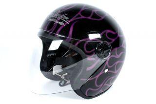 Harley Davidson Wild Fire 3/4 Helmet   Womens   NEW   Extra Small