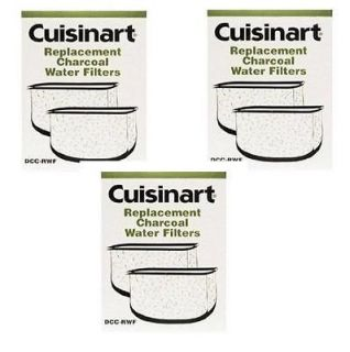 packages 6 Filters CUISINART Coffee Maker DCC RWF Water Filters