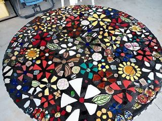 36 Round MOSAIC TABLE TOP / Coffee Table/Bistro/Cafe/Direct from