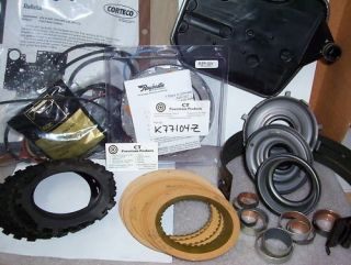 700 700R4 4L60 1987 1993 Master Rebuild Kit Raybestos Zpak and