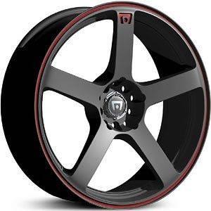 Racing MR116 black wheels rims 4x100 Volkswagen GOLF JETTA 4 LUG