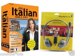 rosetta stone italian in Computers/Tablets & Networking