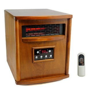 LS 4W1500 X 1500W Infrared Quartz Electric Heater Portable 1500 sq.ft