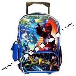 Power Ranger Large Rolling Backpack, New
