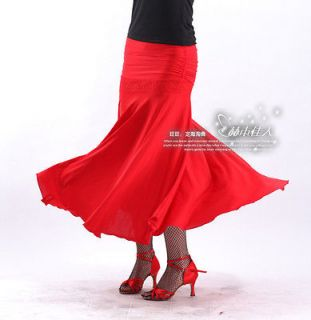 NEW Latin salsa flamenco Ballroom Dance Dress #HB118 skirt