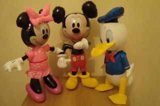 INFLATABLE LARGE OFFICIAL MINNIE MOUSE   MICKEY MOUSE   DAFFY DUCK