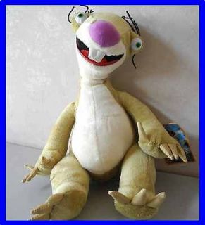 Rare Sid the Sloth Ice Age Continental Drift 12 Tall Plush Toy Doll