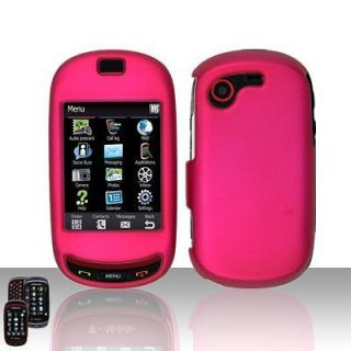 PINK SAMSUNG GRAVITY TOUCH T669 HARD CASE COVER