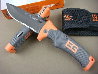 Bear Grylls Large Folding Knife Camping Survival Hunting Knife 13688