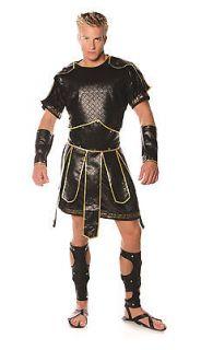 SPARTAN soldier adult mens greek roman warrior armor halloween costume