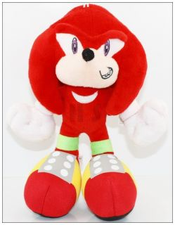 Newly listed New Sonic the Hedgehog 10 Knuckle Plush Toy Doll Cute