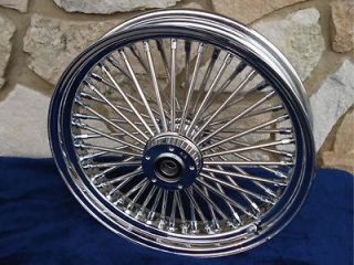 21X3.5 DNA MAMMOTH FAT DADDY 52 SPOKE WHEEL HARLEY TOURING BAGGERS