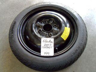 Hyundai Elantra 2013 Spar Tire And Kit | Autos Post