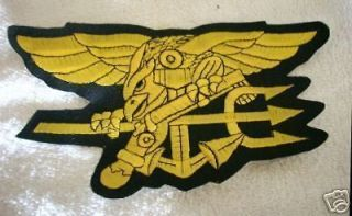 US NAVY SEAL SPECIAL FORCES EMBROIDERED JACKET PATCH