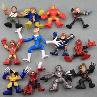Super Hero Squad The Amazing Spider Man Iron Man Avengers Figure D88