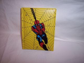 Address Book, Spider Man, Vintage Comic Book Covers
