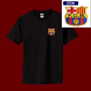 FC BARCELONA Football Soccer Patch Shirt M XL 14.99 BLACK