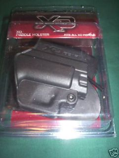 SPRINGFIELD ARMORY FACTORY XD & XDM PADDLE HOLSTER ** FITS ALL XD