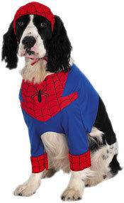 Pet Spider Man Dog Halloween Costume For Dogs Holiday Party