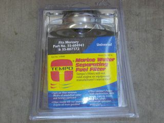 chrome marine water separating fuel filter spin on v drive jet boat