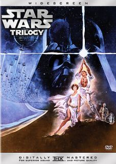 Star Wars Trilogy DVD, 2005, 3 Disc Set, Widescreen Limited Edition